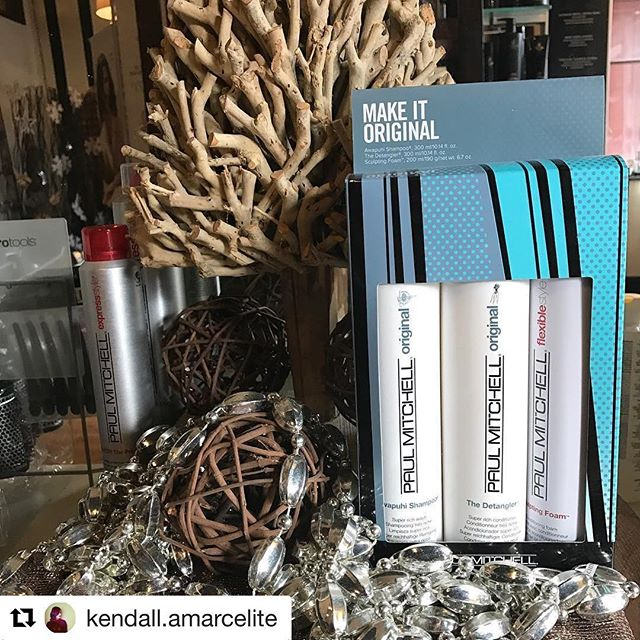 #Repost @kendall.amarcelite with @repostapp ・・・ Don't want to go to the mall?  Shop local with us for last minute gifts!  We have tons of gift sets and great gift ideas for everyone! #amarcelitesalon #paulmitchellfocussalon