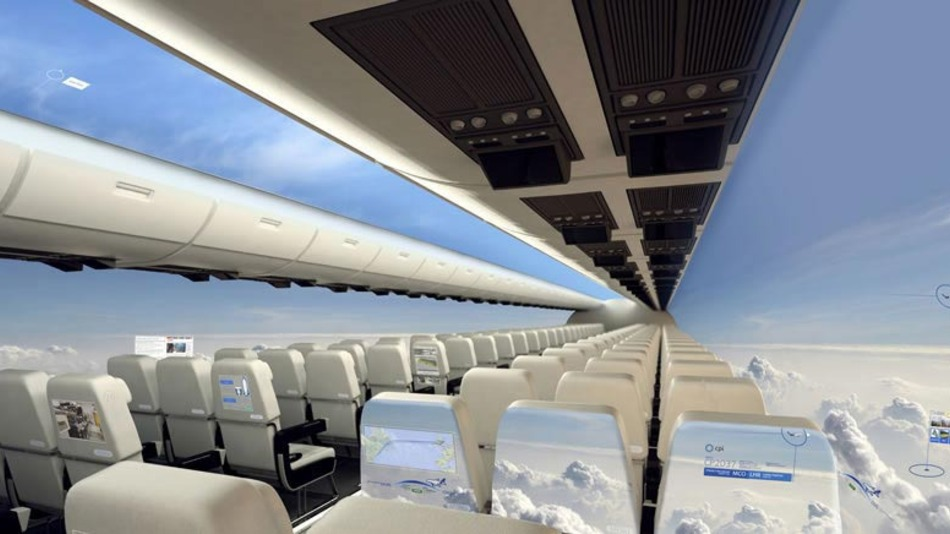 The Transparent Airplane of the Future! Or is it?