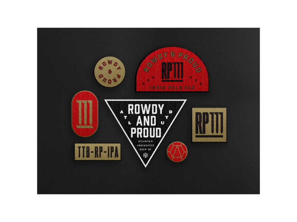 ROWDY AND PROUD IPA (3/3)   Studio Work Design Exploration   Creative Direction  José Reyes   Art Direction  Ashley Shugart   WORK   Branding Mark Exploration  —