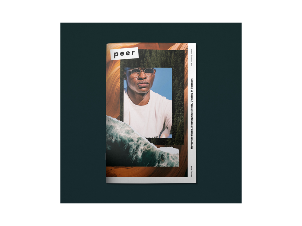 PEER MAGAZINE   Studio Work Proposed Illustration   Creative Direction  José Reyes   Portrait Photography  Tracy Awino   WORK   Collage Illustration  —