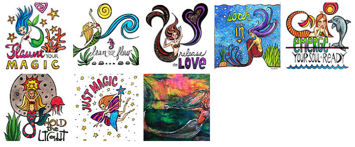 Click the image to find magically enchanted prints and products (mugs, tees, pillows, duvets, and more)!