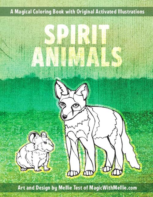 Spirit Animals Mini Coloring Book