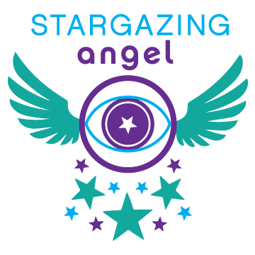 Stargazing Angel Intuitive Logo Design Branding