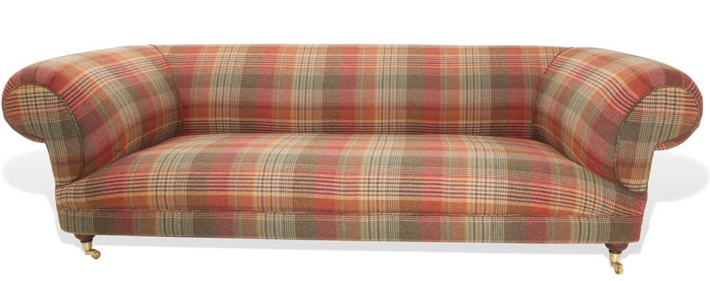 Sofa Riot Dougal Tartan Chesterfield