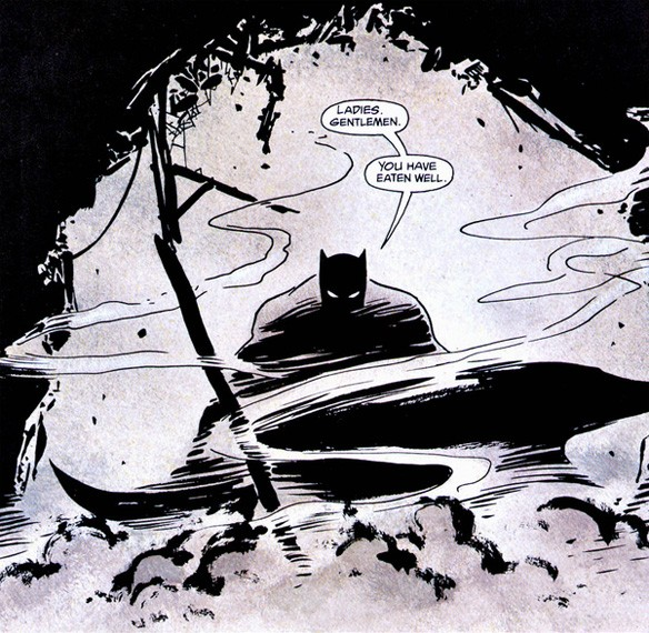 One of the best panels from batman: year one.