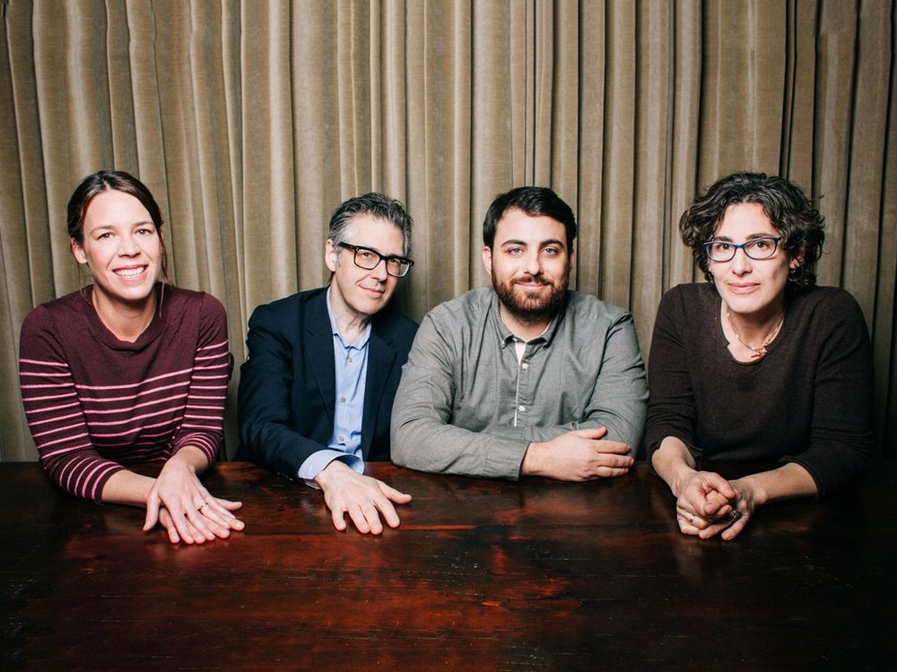 S-Town 's creative team: julie snyder, ira glass, brian reed, sarah koenig. via  wired .