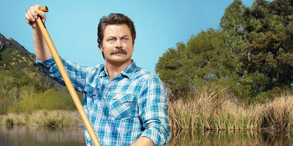 Nick offerman paddle your own canoe audiobook
