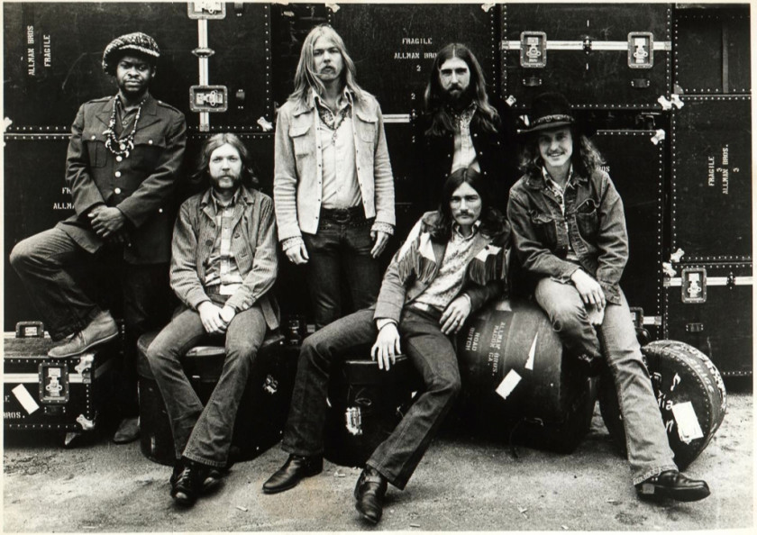the original allman brothers band in 1969.