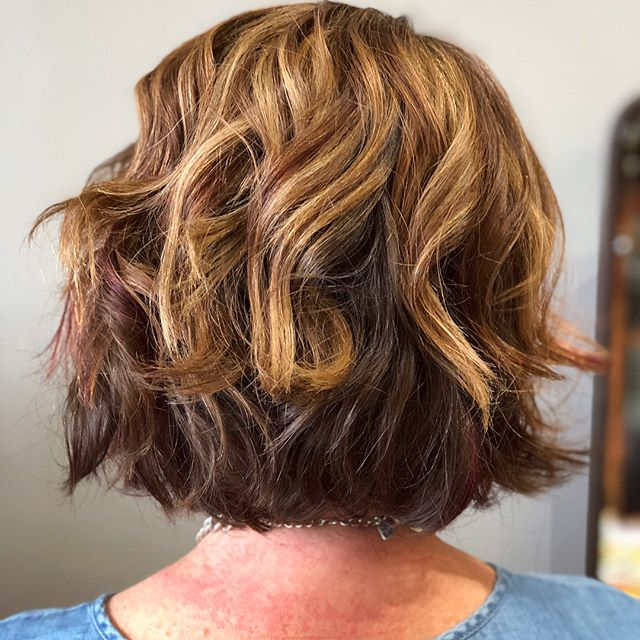 Need your hair done before a family event, work party or hot date? Come stop by the salon!!! #balayage #haircut #hairgoals