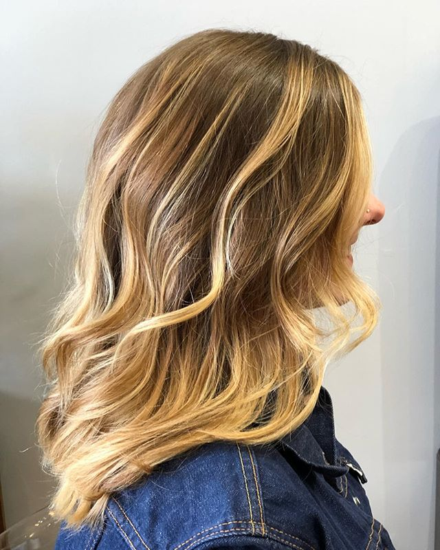 Summer beauty balayage. #tedisaacssalon, #goldwell, #pdxhair