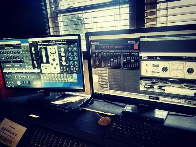 Hanging W the Boys Today  Recording Cajon!  @eventideaudio @slatedigital  #studio #instruments #controlroom #mixing #mastering #proaudio #kush #inthestudio #cajon #microphones #producer #songwriter