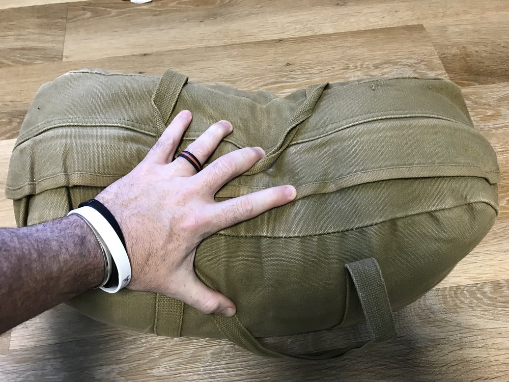 The Tool Bag - Hand for size reference