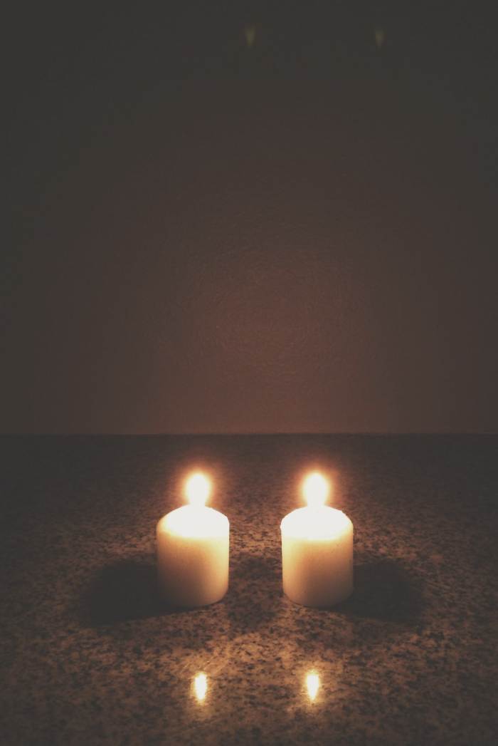 two candles on PAIL day, wave of light