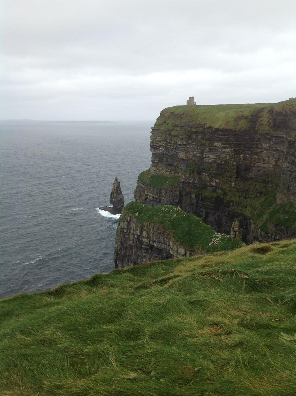 Cliffs of Moher, Ireland. 2012.