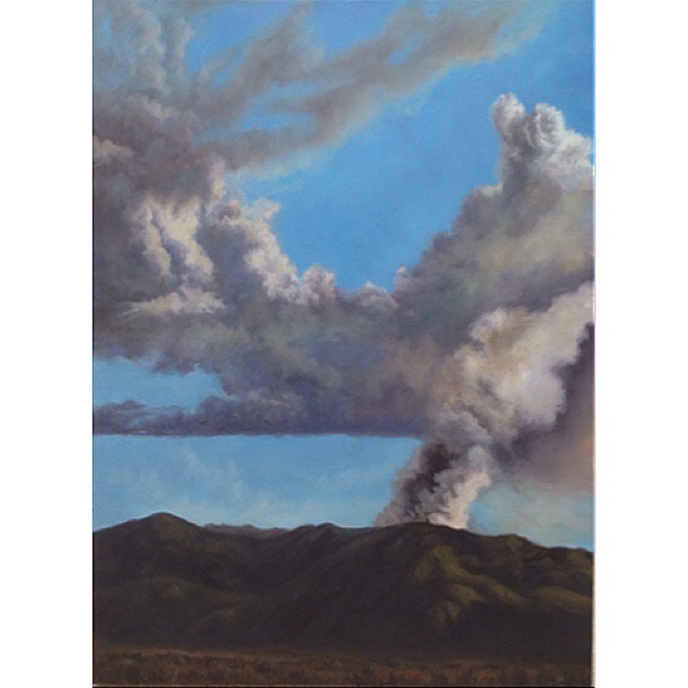 Where Smoke And Cloud Meet oil on canvas 18x24 2014 B.JPG