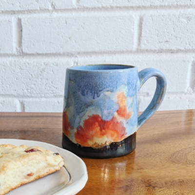 GOLD FIRE MUGS—Available NOV. 15 to Newsletter Subscribers first, Nov. 16 to public.