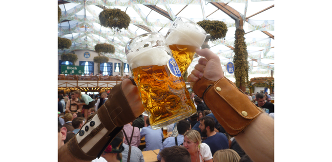 The OktoberFist: The ultimate beer drinking accessory (so they say)