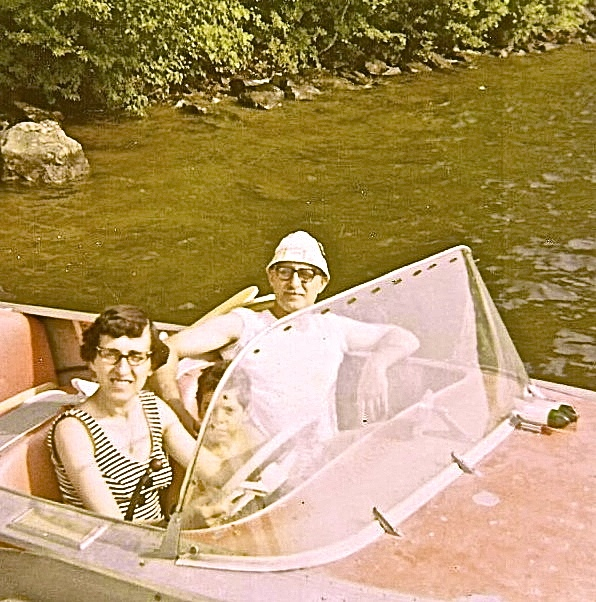 Uncle Pete + Aunt Anne circa 1970 - Lake Country