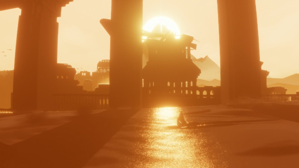 One of the many beautiful scenes in Journey