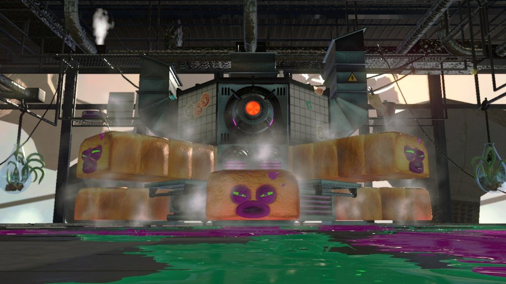 """Yes, that is a boss from Splatoon 2. Octo Oven - """"425˚of Pain"""""""