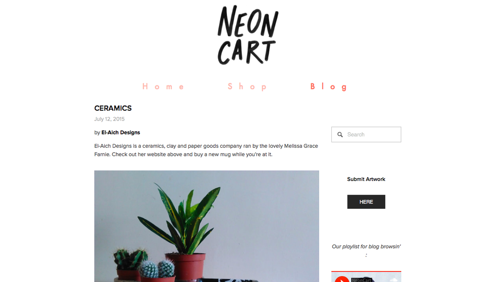 NEON CART FEATURE