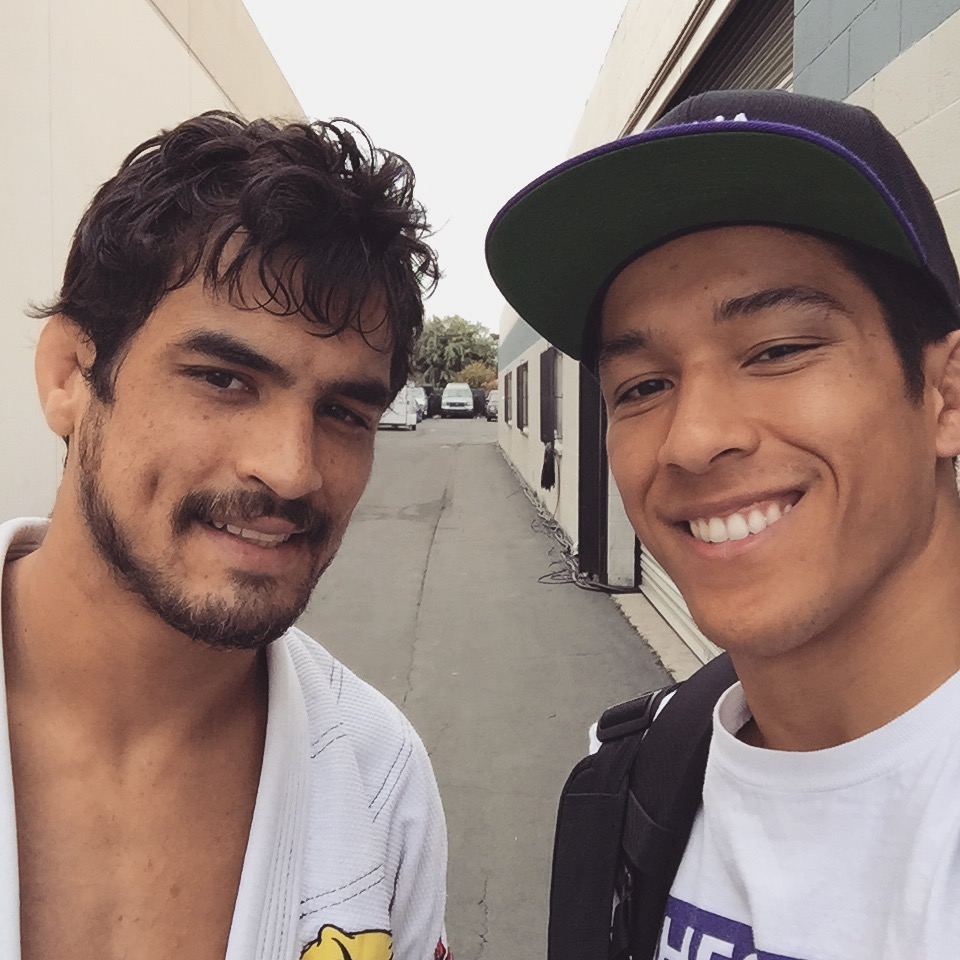 Kron Gracie and me (yes I have a swollen black eye).