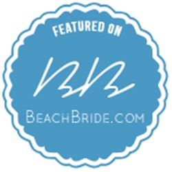 Featured on Beach Bride