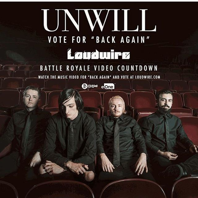 Vote for @unwillband every hour! @loudwire