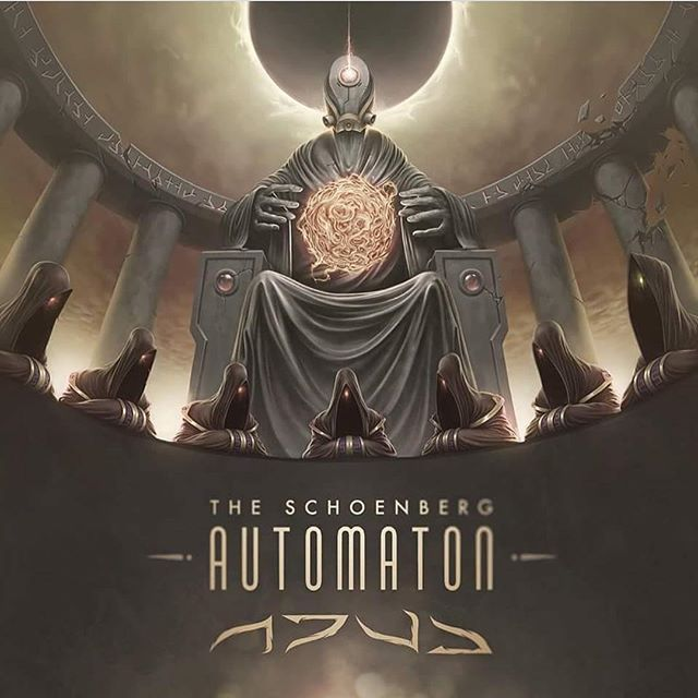 Hope everyone is still blasting this facemelter. Big news coming from @theschoenbergautomaton soon!!!