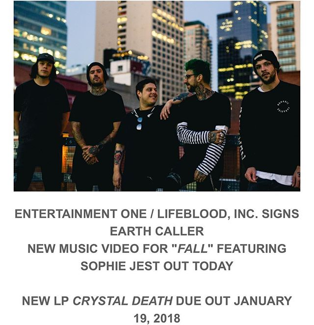 Welcome on board officially @earthcaller !! Link to their new video in our bio right now!!