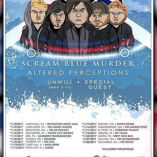 Check out @unwillband on tour!!!!