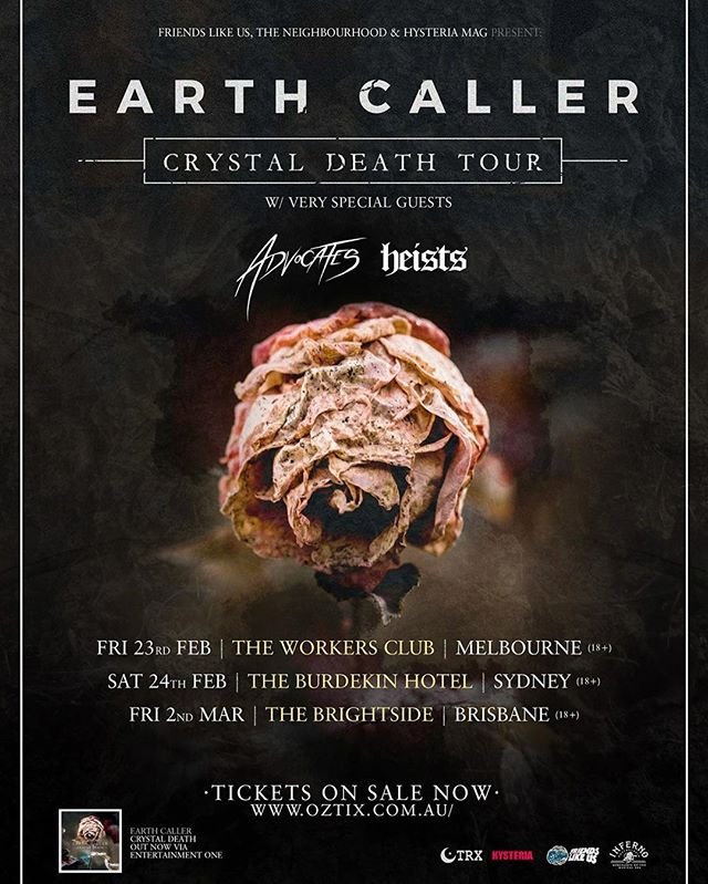 Australia rollllll out!! A ton of massive @earthcaller news about to drop