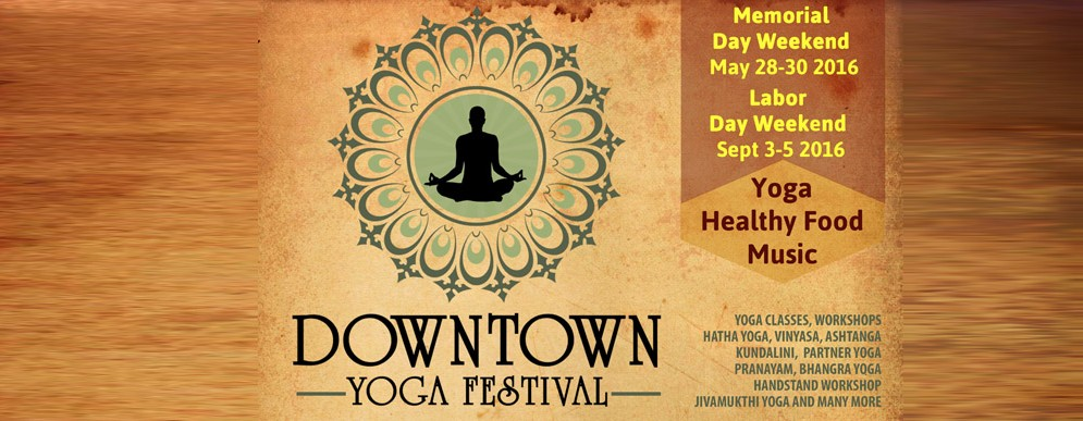 Downtown Yoga Festival, Salt Lake City, Labor Day Weekend 2016