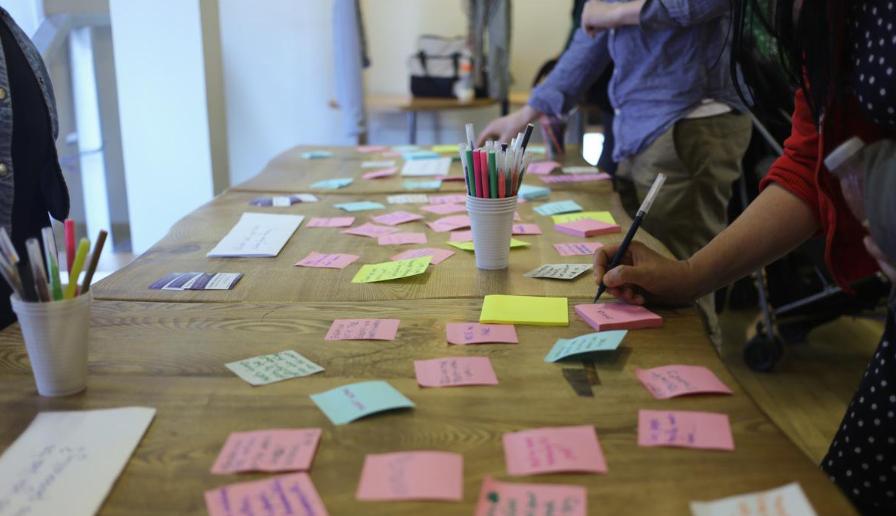 Culture: What Next? World Café Conversation, Scottish Storytelling Centre 2015
