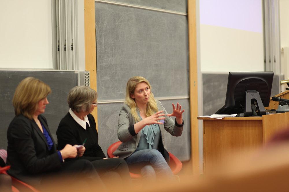 Panel Guest, International Womens' Day 2014, University of Edinburgh