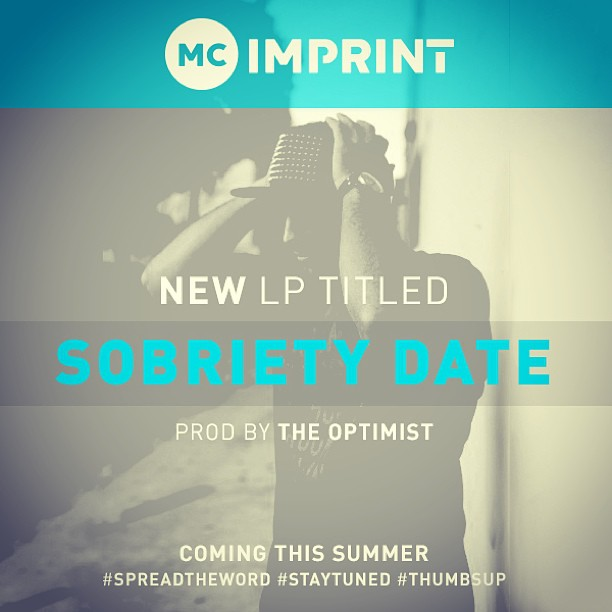 Sobriety Date LP flyer