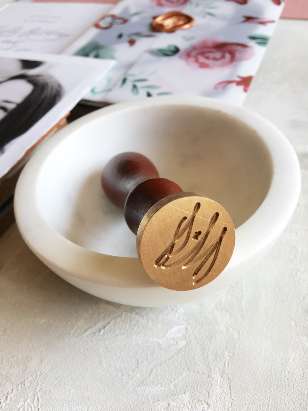 On Three Designs Calligraphy Wax Seal