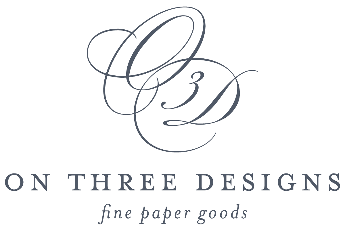 On Three Designs