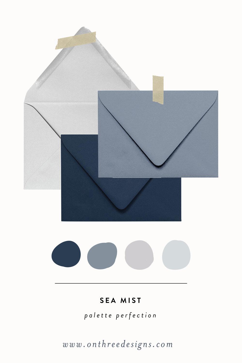 Dusty Blue Wedding Palette