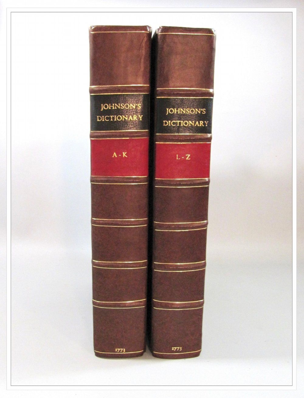 Johnson's English Dictionary, 4th edition 1773