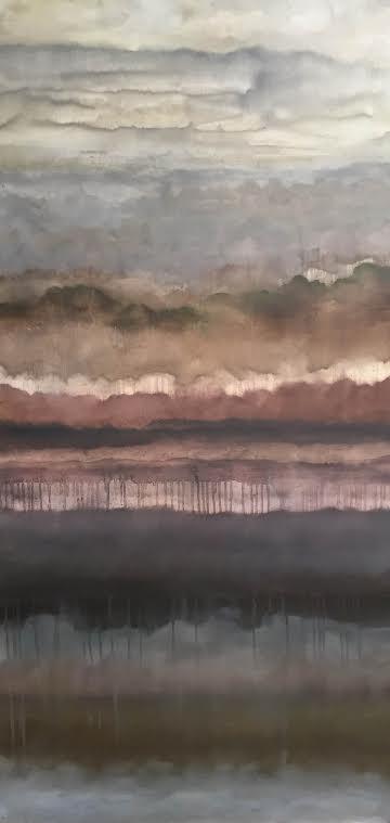 "Untitled   Artist:   Suzanne Robinson    Size: 24  "" x 48""   Medium: Oil on Canvas   Price: $2500   sr1264"