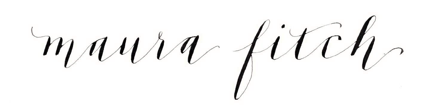 Maura Fitch Calligraphy