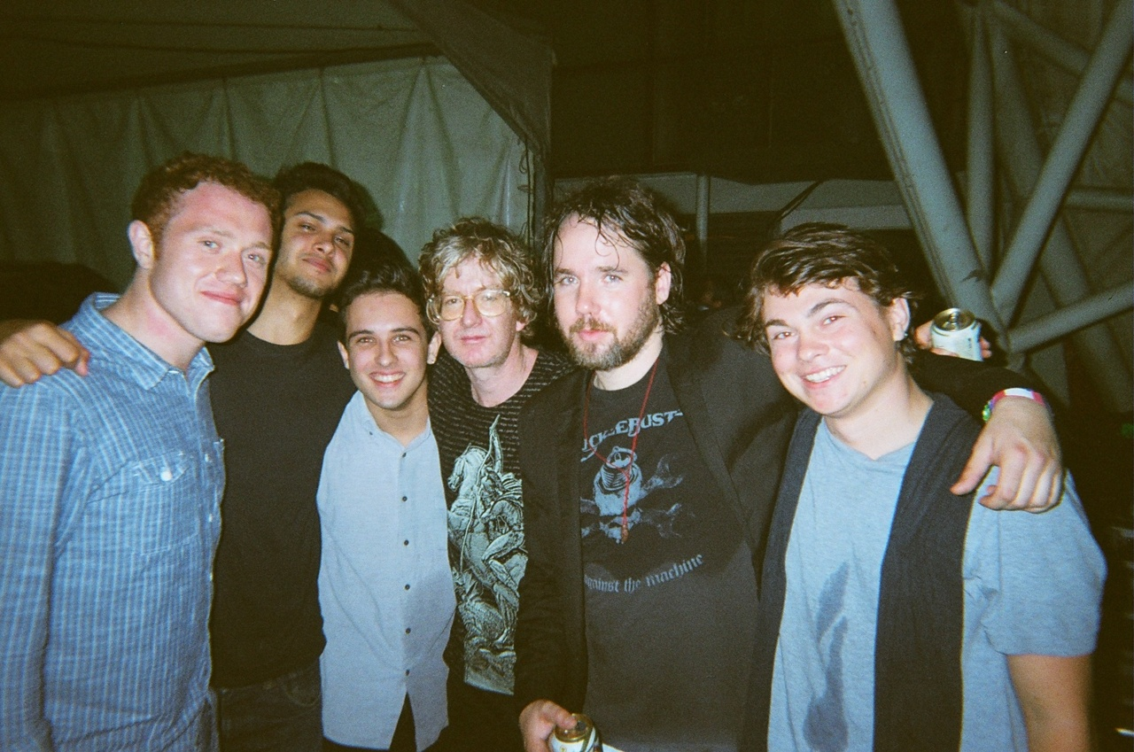 BEST DAY EVER    bombaybicycleclubmusic :     With our heroes Broken Social Scene in Rio…