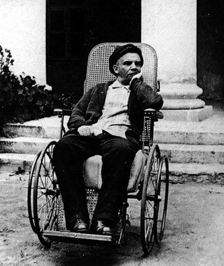 Lenin con su salud deteriorada