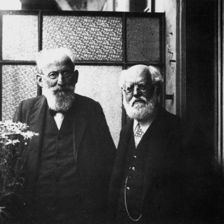 Eduard Bernstein y Karl Kautsky
