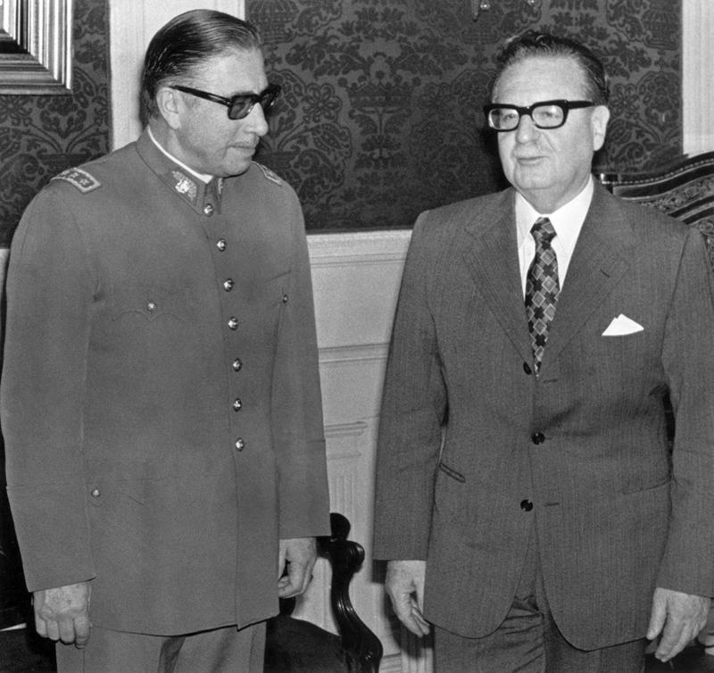 Pinochet y Allende