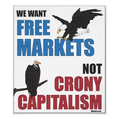 """Libre mercado vs Capitalismo de compadrazgo o """"amigotes"""""""