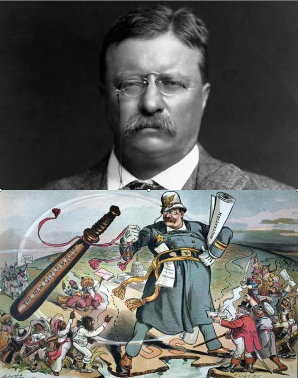 """Theodore Roosevelt y el """"Big Stick"""""""