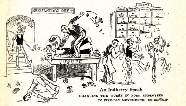 """Scientific Management: organización """"científica"""" del trabajo con el objetivo de optimizar el trabajo y hacerlo más productivo y eficiente"""