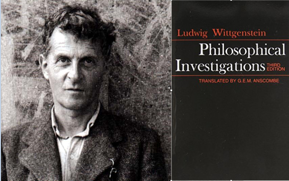 """Para el """"segundo"""" Wittgenstein, es decir, el de las """"Investigaciones Filosóficas"""", el significado de una palabra es el uso que se le da en el lenguaje y que hablar un lenguaje forma parte de una actividad o una """"forma de vida"""""""